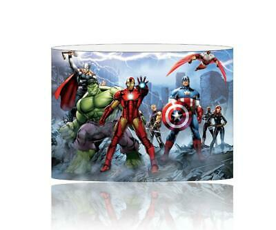 (092)  Avengers Lampshade / Ceiling Light Shade Kids Free P+P