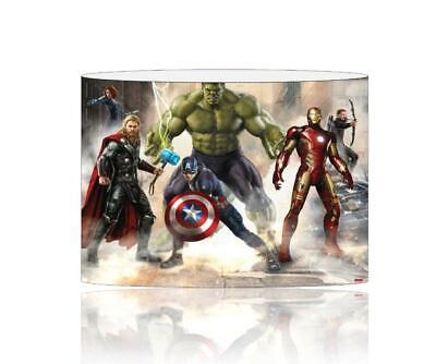(093)  Avengers Lampshade / Ceiling Light Shade Kids Free P+P