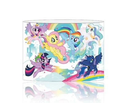(098)  My Little Pony Lampshade / Ceiling Light Shade Kids Free P+P
