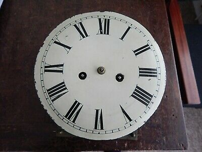 """A 19thCENTURY TWIN FUSSEE MOVEMENT 8"""" DIAL"""