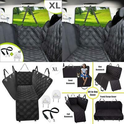 Meadowlark® X-Large Dog Car Seat Cover for Back Seat, Waterproof! XL, Black