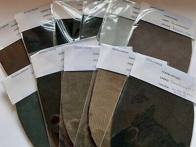 Quality Real Leather Oval Elbow /Knee Patches - - ****Reduced To Clear****