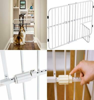 Carlson Tuffy Expandable Pet and Baby Gate, Pressure Mount, 24 x 26-42 inch