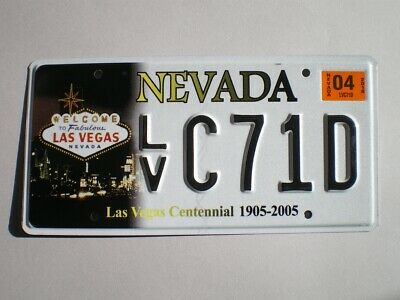 Authentic 2018 Nevada License Plate