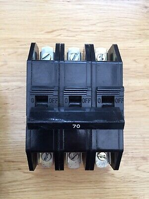 Dorman Smith 70 Amp Mcb Circuit Breaker 3 Phase Pole Loadmaster 63