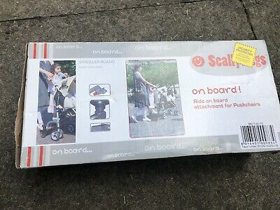 Scallywags On Board Buggy Skater Ride On For Pushchair Stroller Accessory  👶