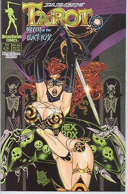 Tarot Witch Of The Black Rose #26B Broadsword 2004 Vf /559/