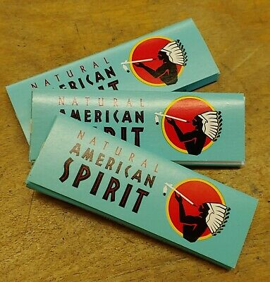 Natural American Spirit Cigarette Rolling Papers 75 PACKS! Free USA S/H!