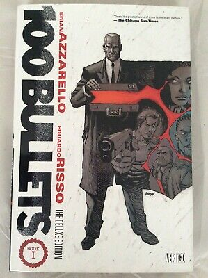 DC Comics / Vertigo - 100 BULLETS: DELUXE EDITION VOL 1 HC Brian Azzarello NEW