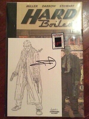 Dark Horse - HARD BOILED DELUXE HC - Signed by Frank Miller & Geoff Darrow