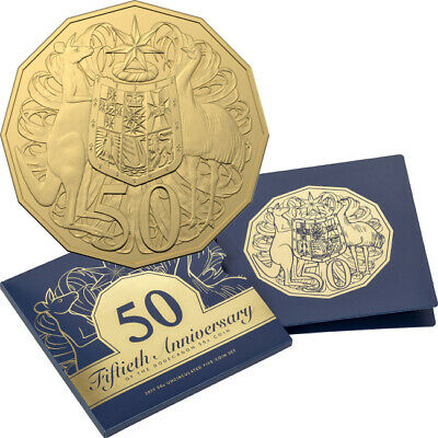 2019 50th Anniversary Of The Dodecagon 50c Coin Unc Set