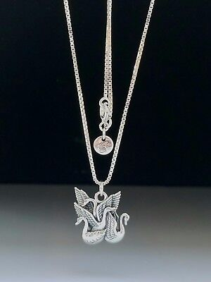 2e8aa6abd Children of Lir Swans Sterling Silver Necklace Irish Myth Folklore Peter  Stone