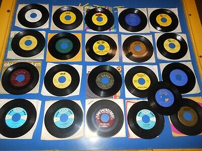 50's/60's  Records 45 RPM POLKA POLKA Lot Of 21 different records  Lot AA