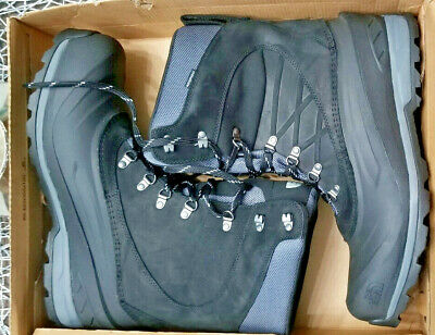 NEW WITHOUT BOX The North Face Mens Chilkat Waterproof Snow Boot Mens 14  Black