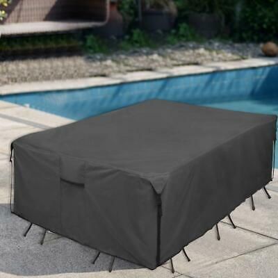 Waterproof ultraviolet Garden Patio Furniture Cover Outdoor Table Chairs Covers