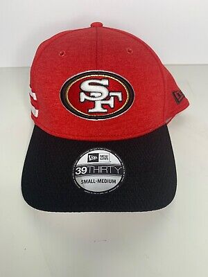 46192940 New Era Cap Hat 59Fifty San Francisco 49ers Red NFL On field Fitted 5950  Team