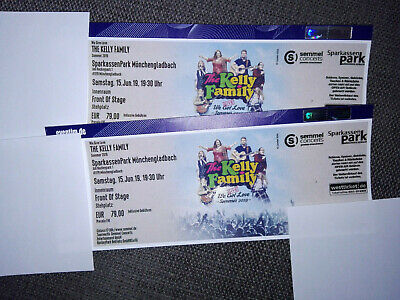The Kelly Family 1 FOS Ticket für Mönchengladbach 15.06.2019
