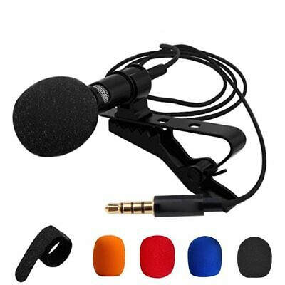 Mini Lavalier Microphone Wired PC Laptop Smartphone Internet Live Broadcast Mic