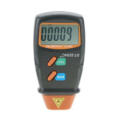 DT-2234C+ Non-Contact LCD Digital Tachometer 2.5- 99999RPM Tester Meter