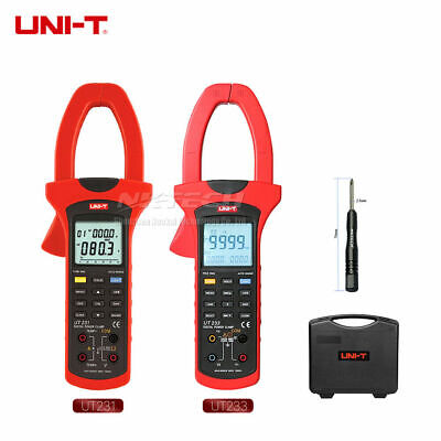 UNI-T Digital Power Clamp Meter 3 Phase Sequence Test 1000A True RMS Positive