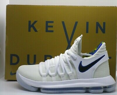 finest selection f1c0d 0dccb Nike Zoom KD 10 Limited Golden State Warriors Shoes White Size 6.5Y (AJ7781  101