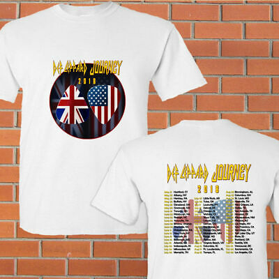 Shop For Cheap Home-def-leppard-journey-tour-dates-2018 Gk75 T-shirt S To 5xl Screen & Specialty Printing