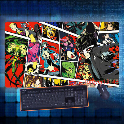 Anime Persona 5 Keyboard GAME Mouse Pad Table Mat Otaku Gift Cosplay 70*40CM#X23