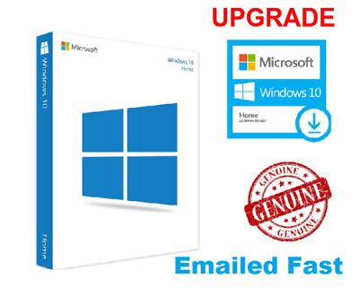 Windows 10 Home Upgrade Key 32 / 64Bit Activation Code License Windows 10 Home