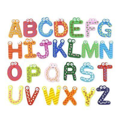 Wood Cute Fridge Magnet Alphabet Animal Number Early Educational Baby Toy Prof