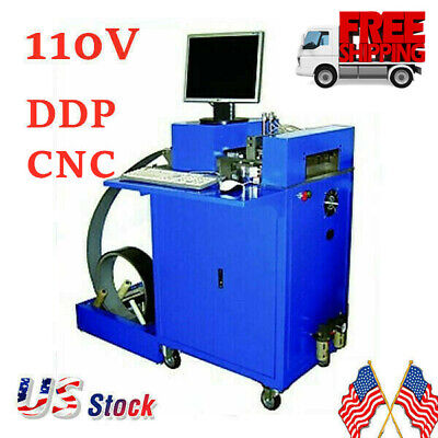 US Stock 110V CNC Notching Notcher Machine for Metal Channel Letter Single Side