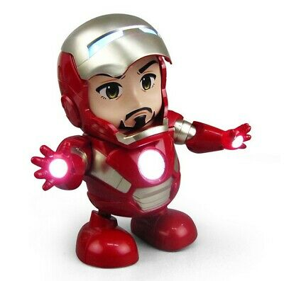 Dancing Iron Man Hero Marvel Avengers Infinity War Endgame Electric Sound Toy