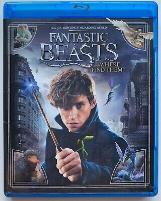 Fantastic Beasts And Where To Find Them Blu Ray Dvd 2 Disc Set Free Shipping
