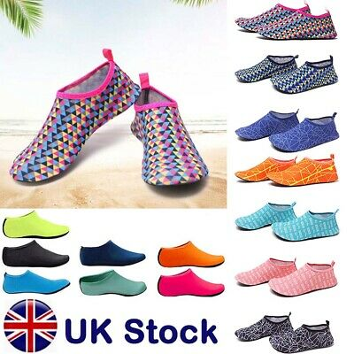 Men Womens Diving Surf Socks Wetsuit Water Aqua Shoes Non Slip Swim Beach Shoes