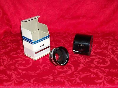 ADA Screw Mount Wideangle Camera Lens S-VI Leather Case New in box Made in Japan
