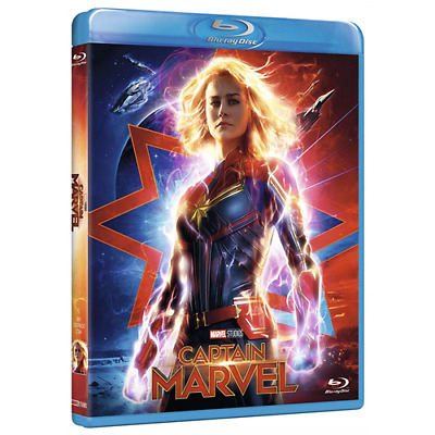 Captain Marvel  [Blu-Ray Nuovo] [PRENOTALO DISPONIBILE DAL 26/06]