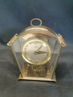 Schatz & Sohne Wind-Up Skellington Brass Cased Carriage / Mantel Clock