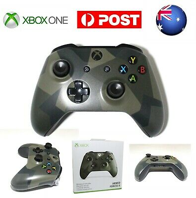 AU Armed Forces II Edition MS Xbox One Wireless Game Controller Gamepad for PC