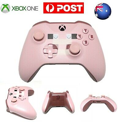 AU Minecraft Pig Edition MS Xbox One Wireless Game Controller Gamepad With Jack