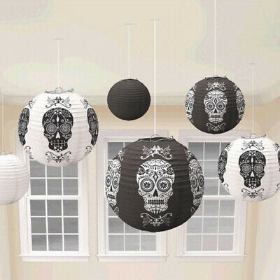 Day of the Dead Lantern Decorations Halloween Party