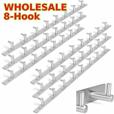 WHOLESALE Bathroom Home Organizer Hook Clothes Towel Wall Mounted Hanger lot BT