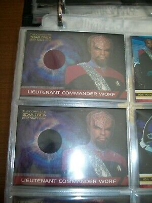 The Complete STAR TREK Deep Space Nine DS9 From The Archives Costume Cards CC2