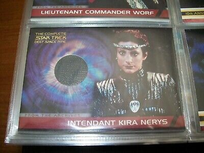 The Complete STAR TREK Deep Space Nine DS9 From The Archives Costume Card CC4