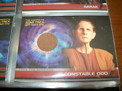 The Complete STAR TREK Deep Space Nine DS9 From The Archives Costume Card CC5
