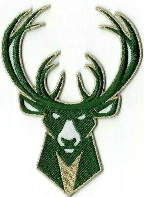 Bucks Milwaukee NBA Giannis Iron on Patches Embroidered Badge Patch Sew Emblem