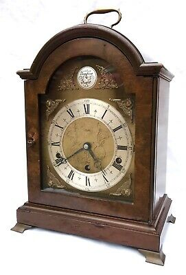 Large Elliott London Variable Chiming London Mantel Bracket Clock Asprey