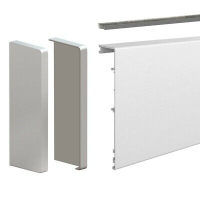 118-inch clip-on fascia cover with end caps and brush seal - For SLID'UP 190