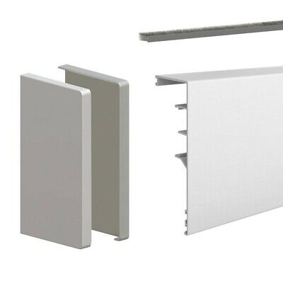 118-inch clip-on fascia cover with end caps and brush seal - For SLID'UP 160, 17