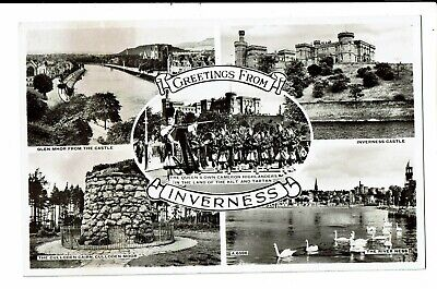CPA - Carte Postale  -Royaume Uni- Inverness-Greetings   VM2923