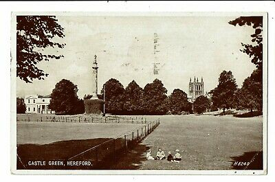 CPA - Carte Postale  -Royaume Uni -Hereford- Castle Green VM2930