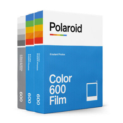 Polaroid Instant Film Triple Pack for 600 Cameras (Color&BW)